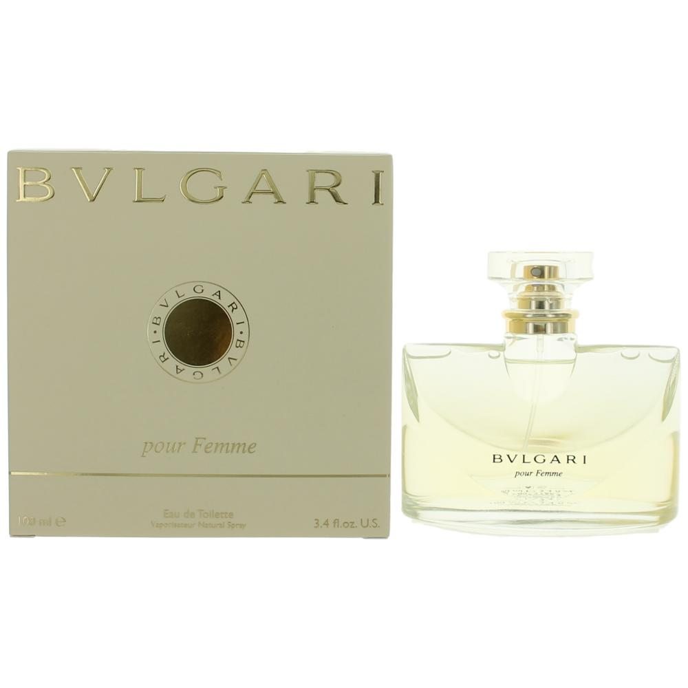 Bvlgari Pour Femme by Bvlgari, 3.4 oz EDT Spray for Women (Bulgari)