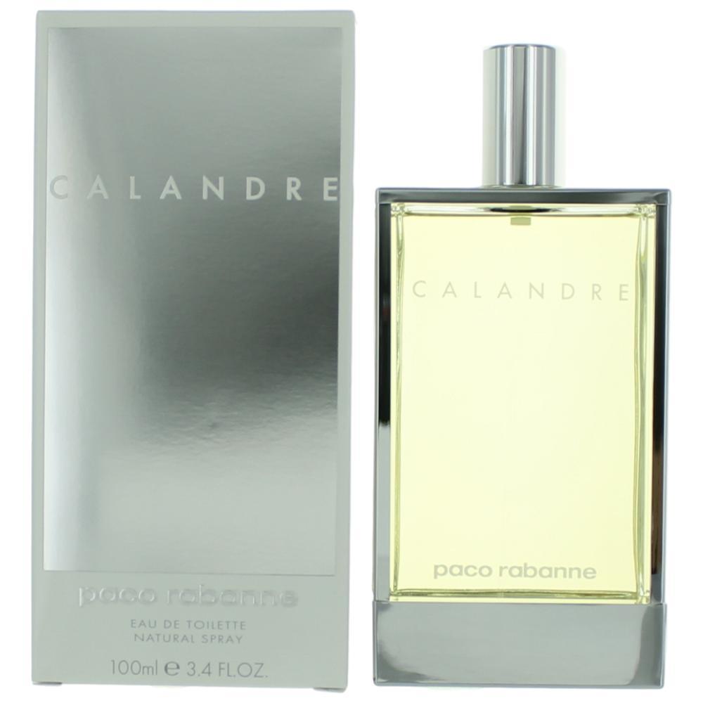 Calandre by Paco Rabanne, 3.4 oz Eau De Toilette Spray for Women