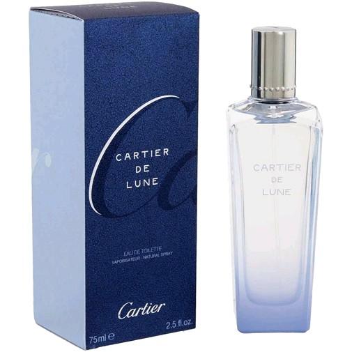 Cartier De Lune by Cartier, 2.5 oz Eau De Toilette Spray for Women