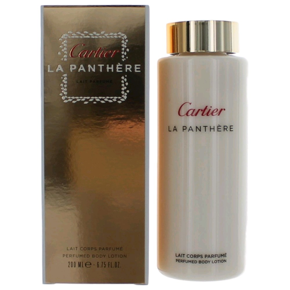 La Panthere by Cartier, 6.7 oz Perfumed Body Lotion for Women