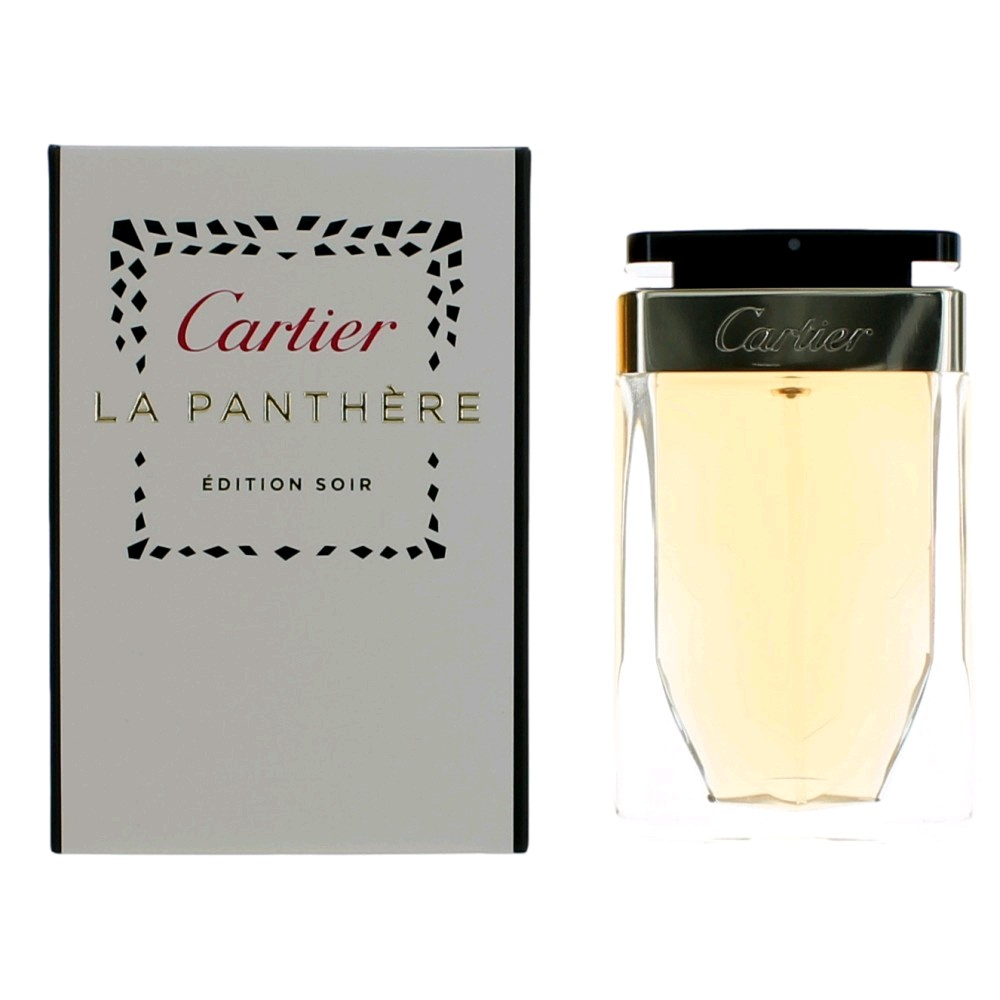 La Panthere Edition Soir by Cartier, 2.5 oz EDP Spray for Women