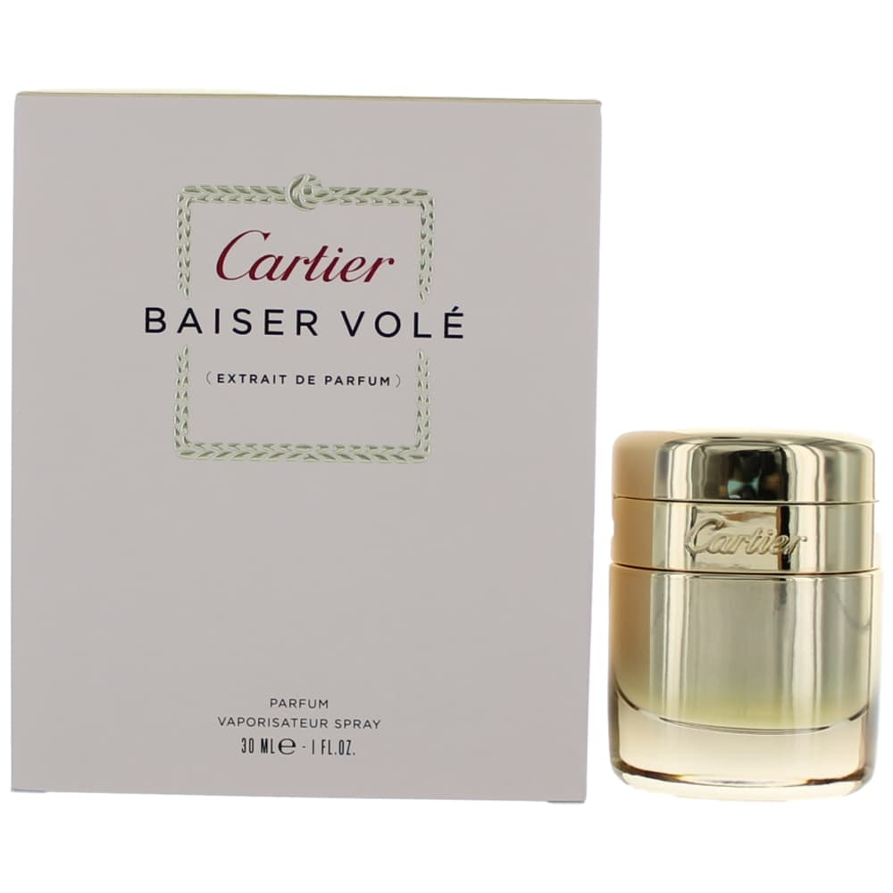 Baiser Vole by Cartier, 1 oz Pure Parfum Spray for Women