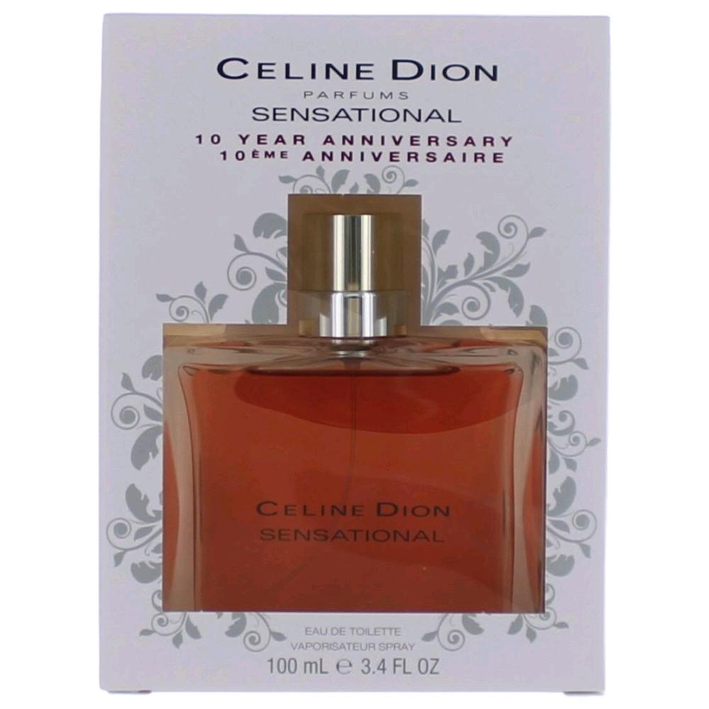 Sensational 10th Anniversary Edition by Celine Dion, 3.4 oz Eau De Toilette Spray for Women
