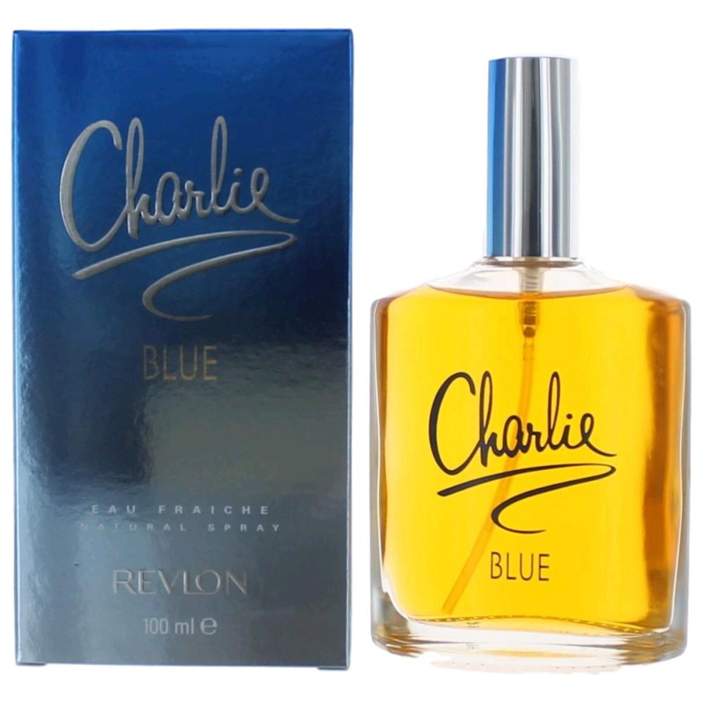Charlie Blue by Revlon, 3.4 oz Eau Fraiche Spray for Women