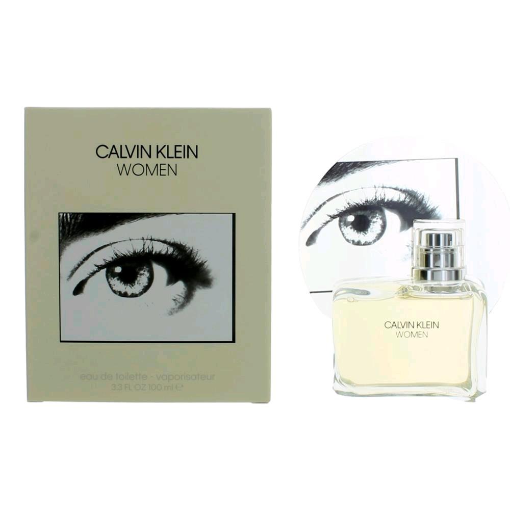 Calvin Klein Women by Calvin Klein, 3.4 oz EDT Spray for Women EDP