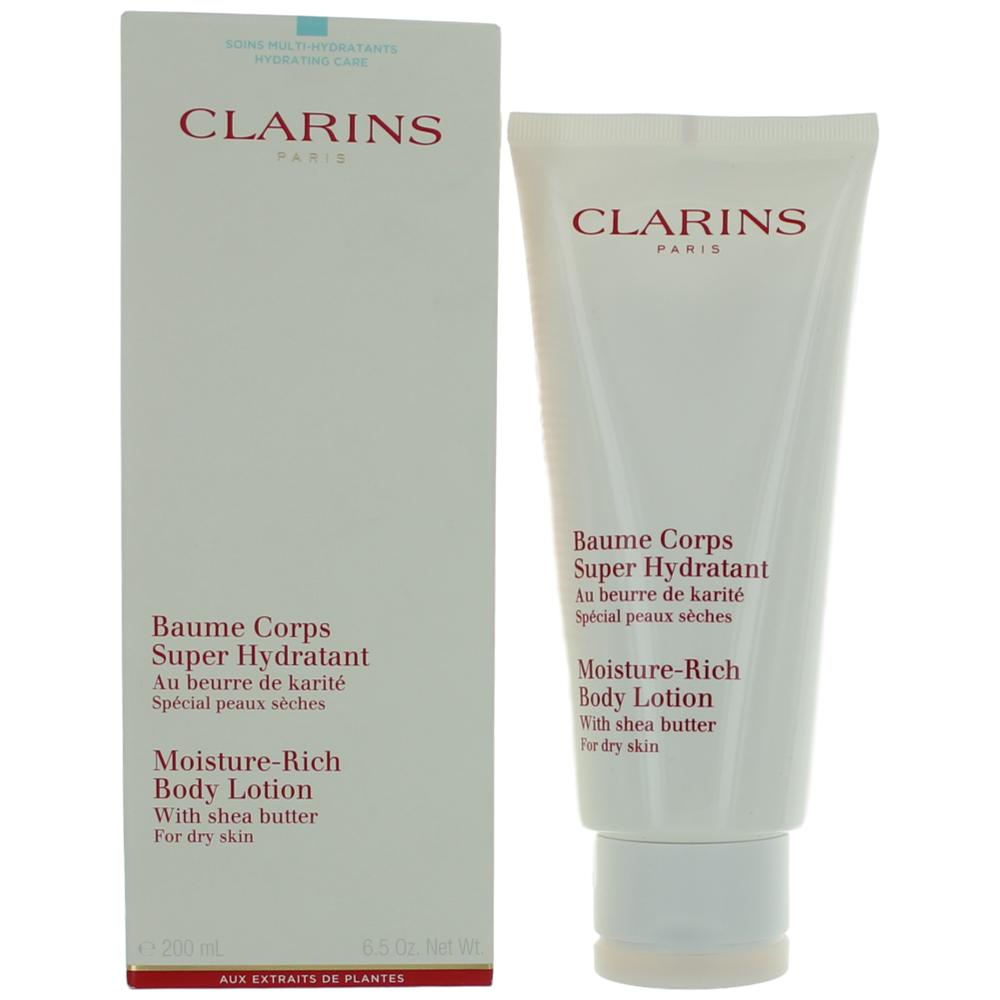 Clarins by Clarins, 6.5 oz Moisture Rich Body Lotion with Shea Butter for Dry Skin for Women