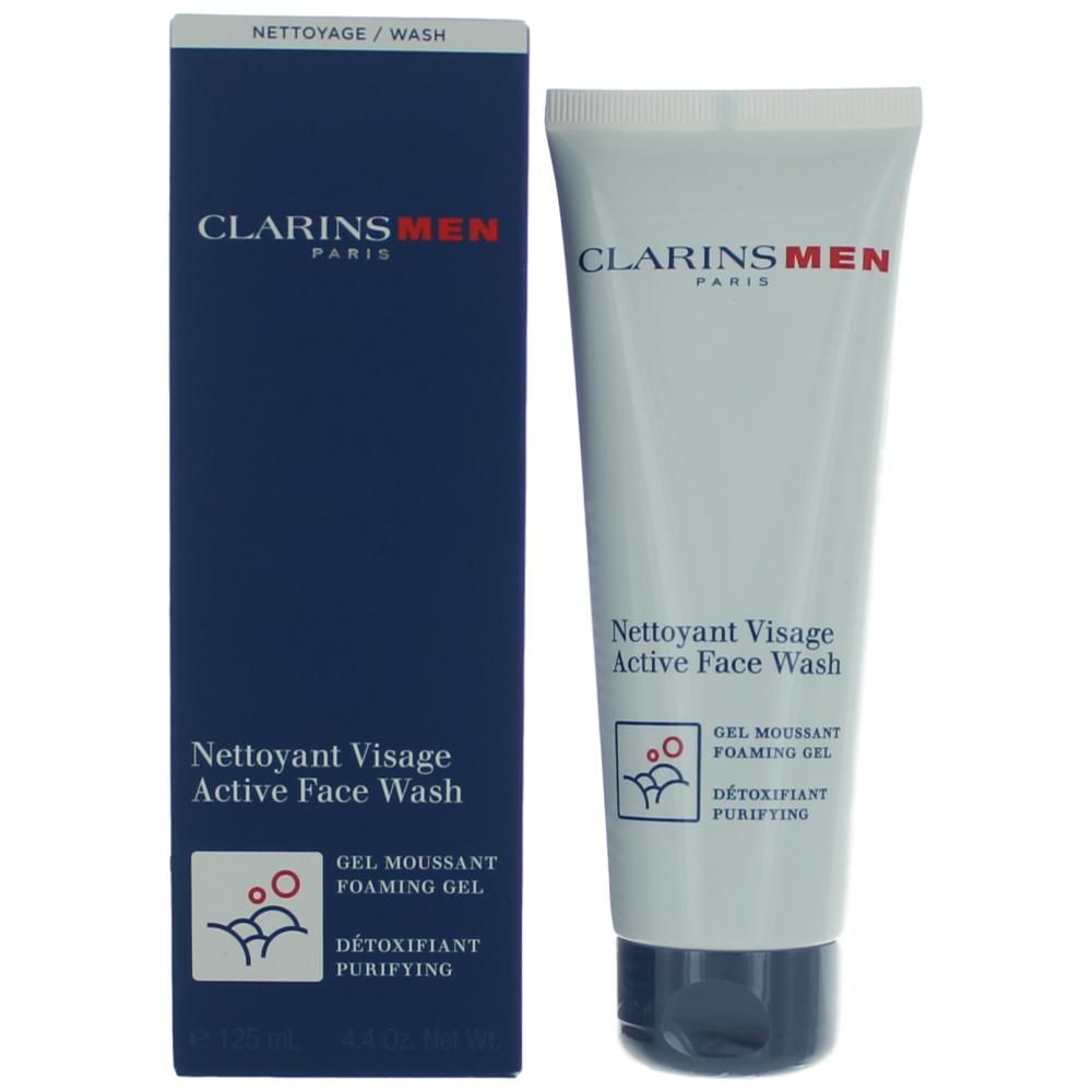 Clarins Men by Clarins, 4.4 oz Active Face Wash for Men