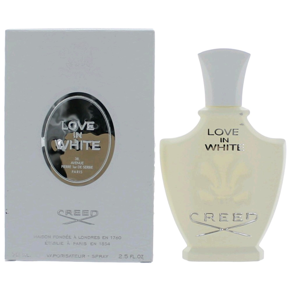 love in white perfume by creed 2 5 oz millesime edp spray. Black Bedroom Furniture Sets. Home Design Ideas