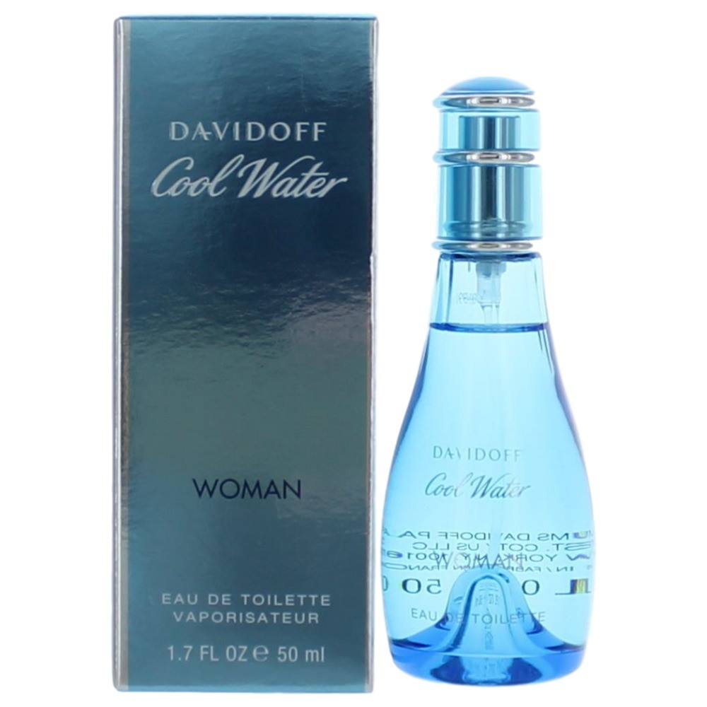 Cool Water by Davidoff, 1.7 oz Eau De Toilette Spray for Women