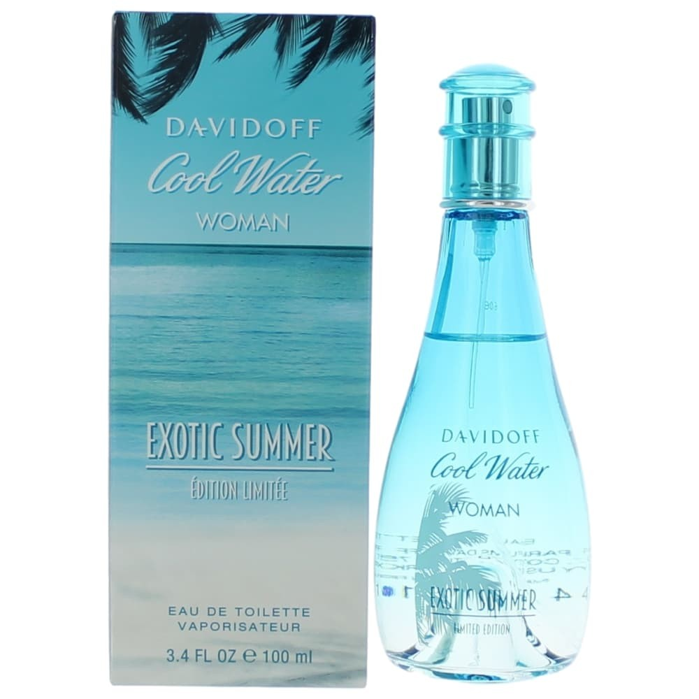 Cool Water Exotic Summer by Davidoff, 3.4 oz EDT Spray for Women