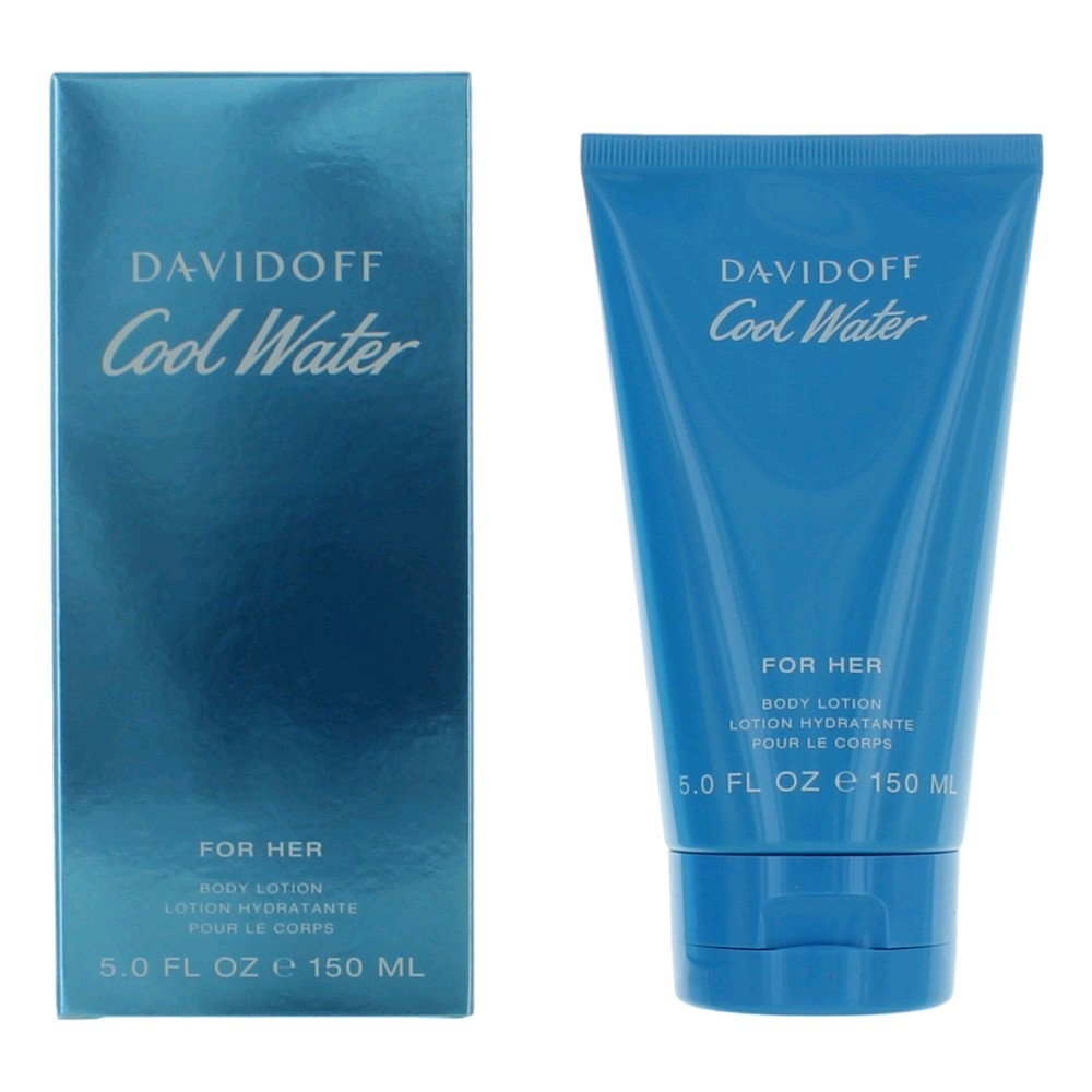 Cool Water by Davidoff, 5 oz Body Lotion for Women