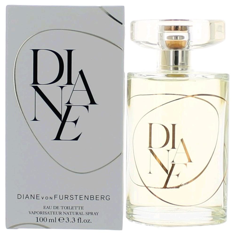Diane by Diane Von Furstenberg, 3.3 oz Eau De Toilette Spray for Women