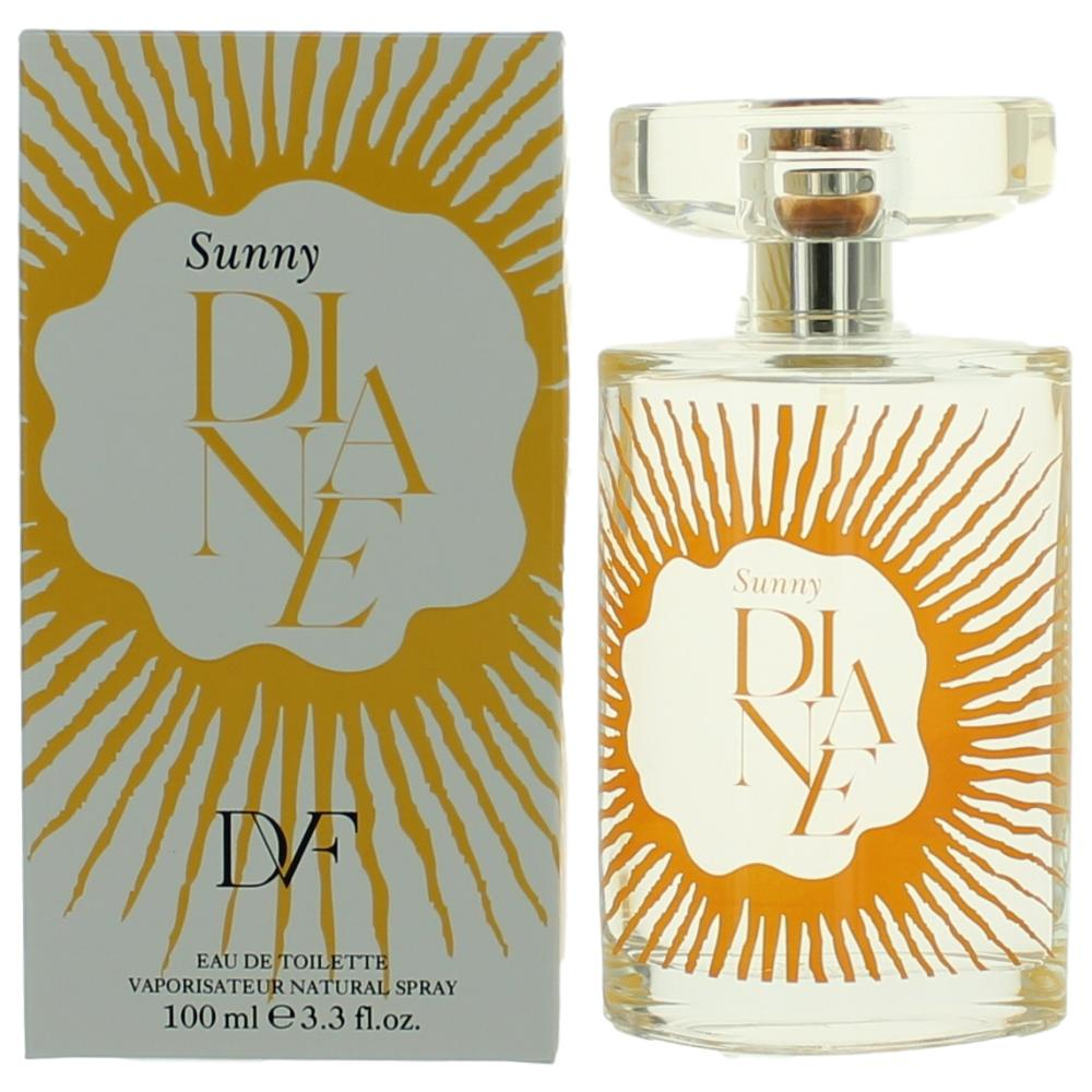 Sunny Diane by Diane Von Furstenberg, 3.3  oz Eau De Toilette Spray for Women
