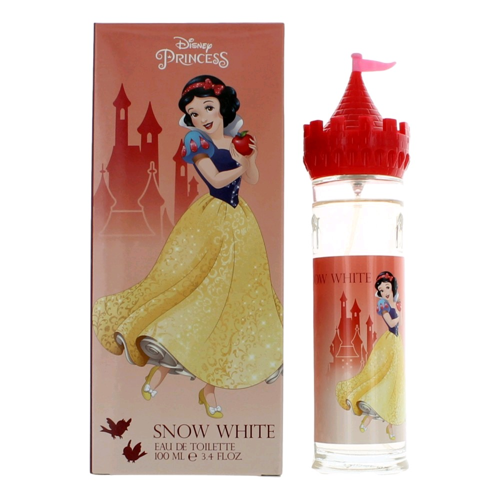 Disney Snow White by Disney Princess, 3.4 oz Eau De Toilette Spray for Girls