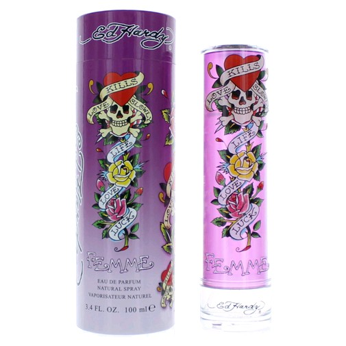 Ed Hardy Perfume For Women By Christian Audigier: 100% Authentic Brand New In Retail Packaging Brand:Christian Audigier Gender:Women Type:Eau De