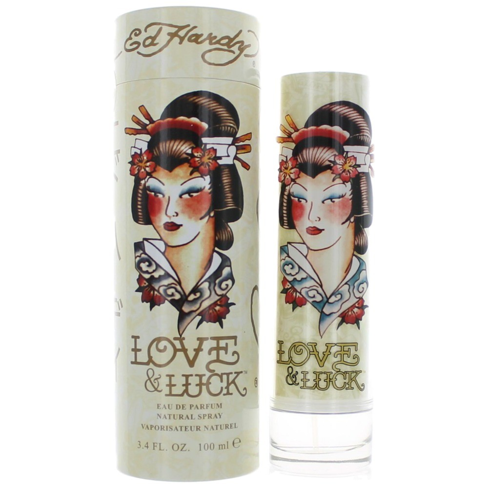 Ed Hardy For Women 3 4 Oz Edp Spray: Ed Hardy Love & Luck Perfume 3.4oz EDP Spray Women NEW
