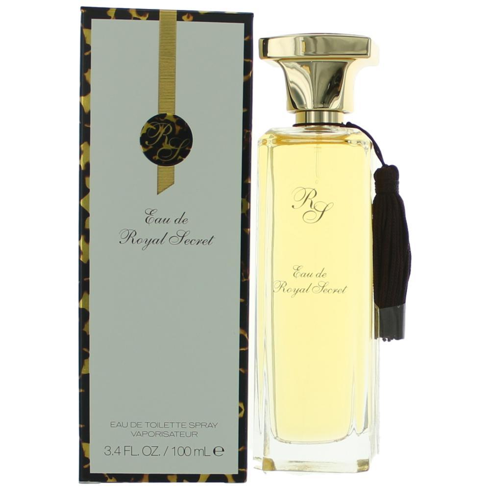 Eau De Royal Secret by Five Star Fragrances, 3.4 oz Eau De Toilette Spray for Women