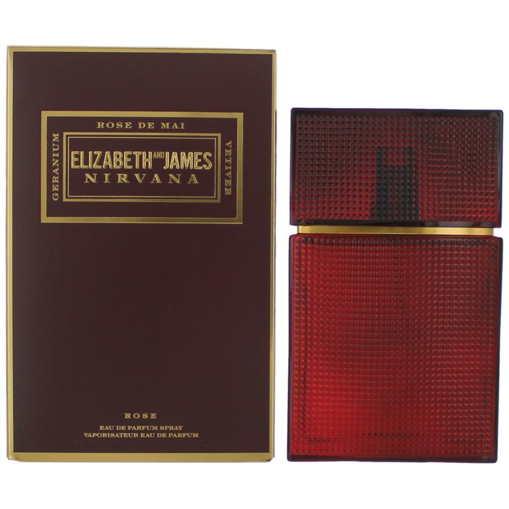 Nirvana Rose by Elizabeth And James, 3.4 oz Eau De Parfum Spray for Women