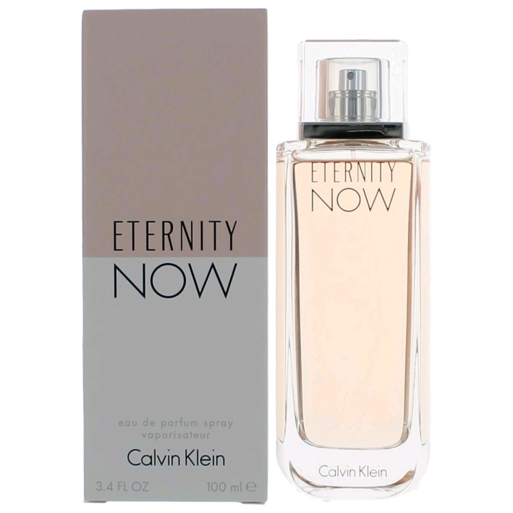 Eternity Now by Calvin Klein, 3.4 oz Eau De Parfum Spray for Women awetern34s