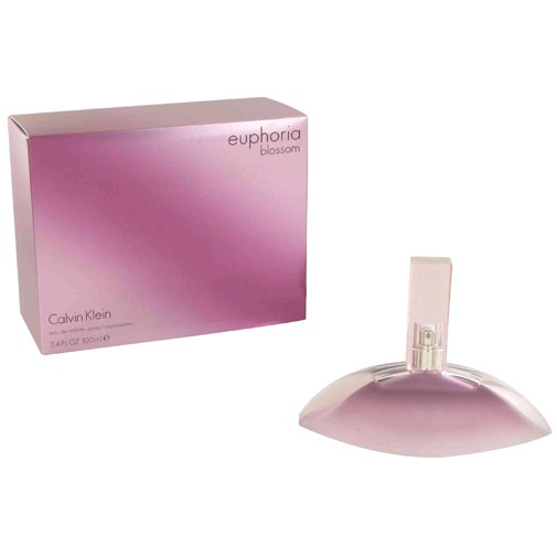 Euphoria Blossom by Calvin Klein, 3.4 oz EDT Spray for Women