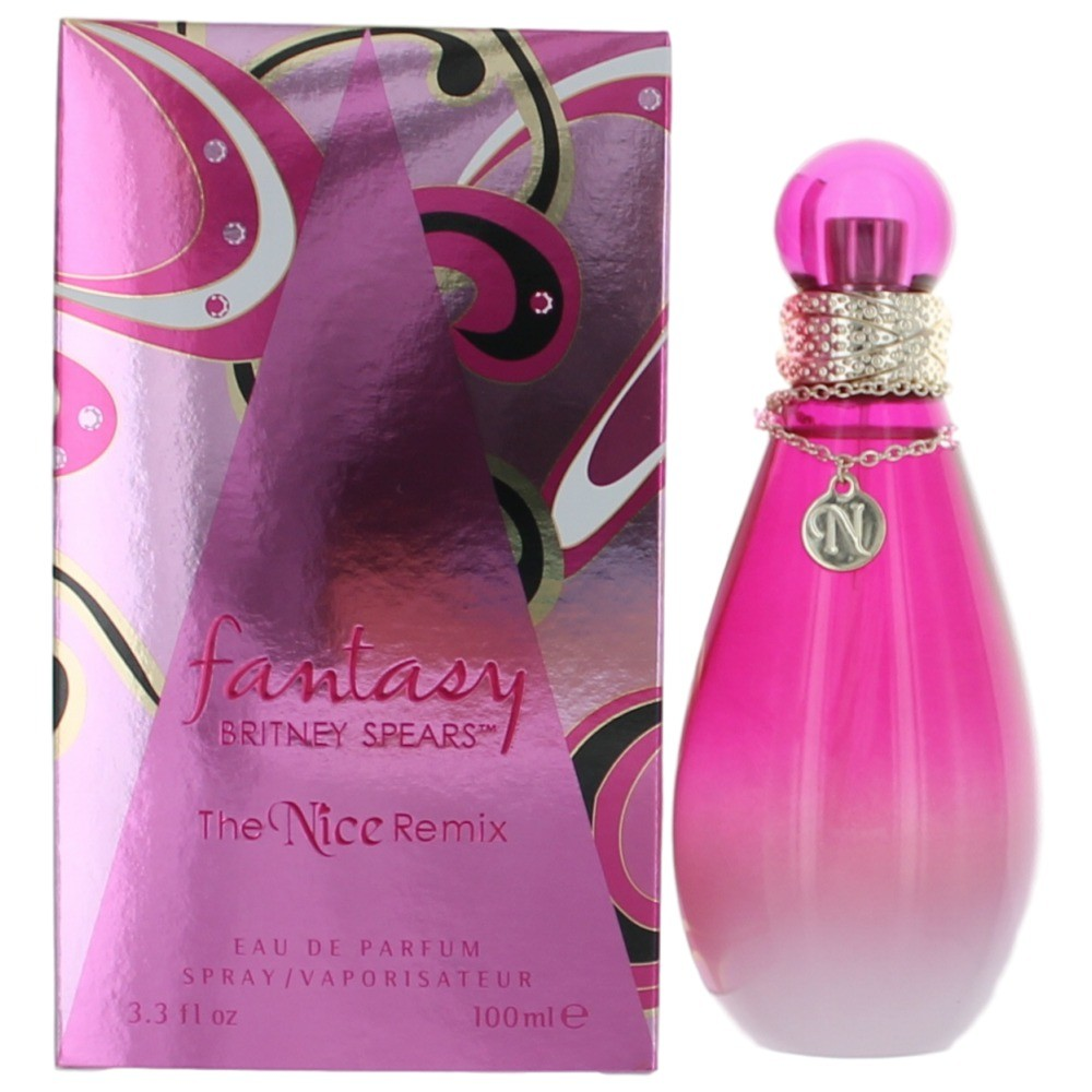 Fantasy The Nice Remix by Britney Spears, 3.4 oz EDP spray for Women.