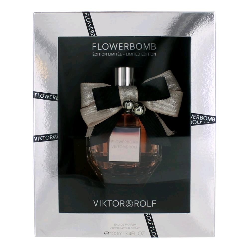 Flowerbomb Limited Edition by Viktor & Rolf, 3.4 oz EDP Spray women