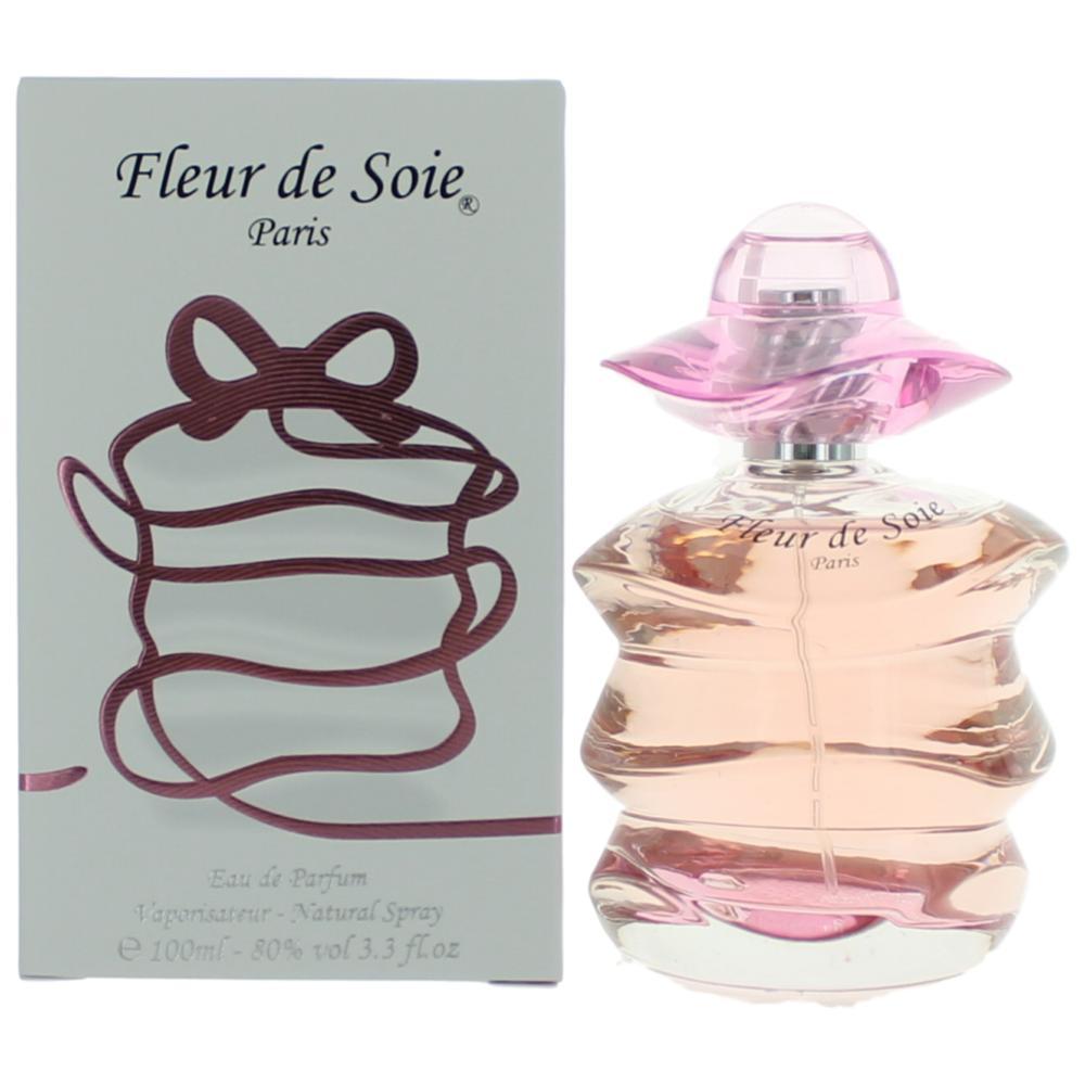 Fleur De Soie by Paris Bleu, 3.3 oz Eau De Parfum Spray for Women