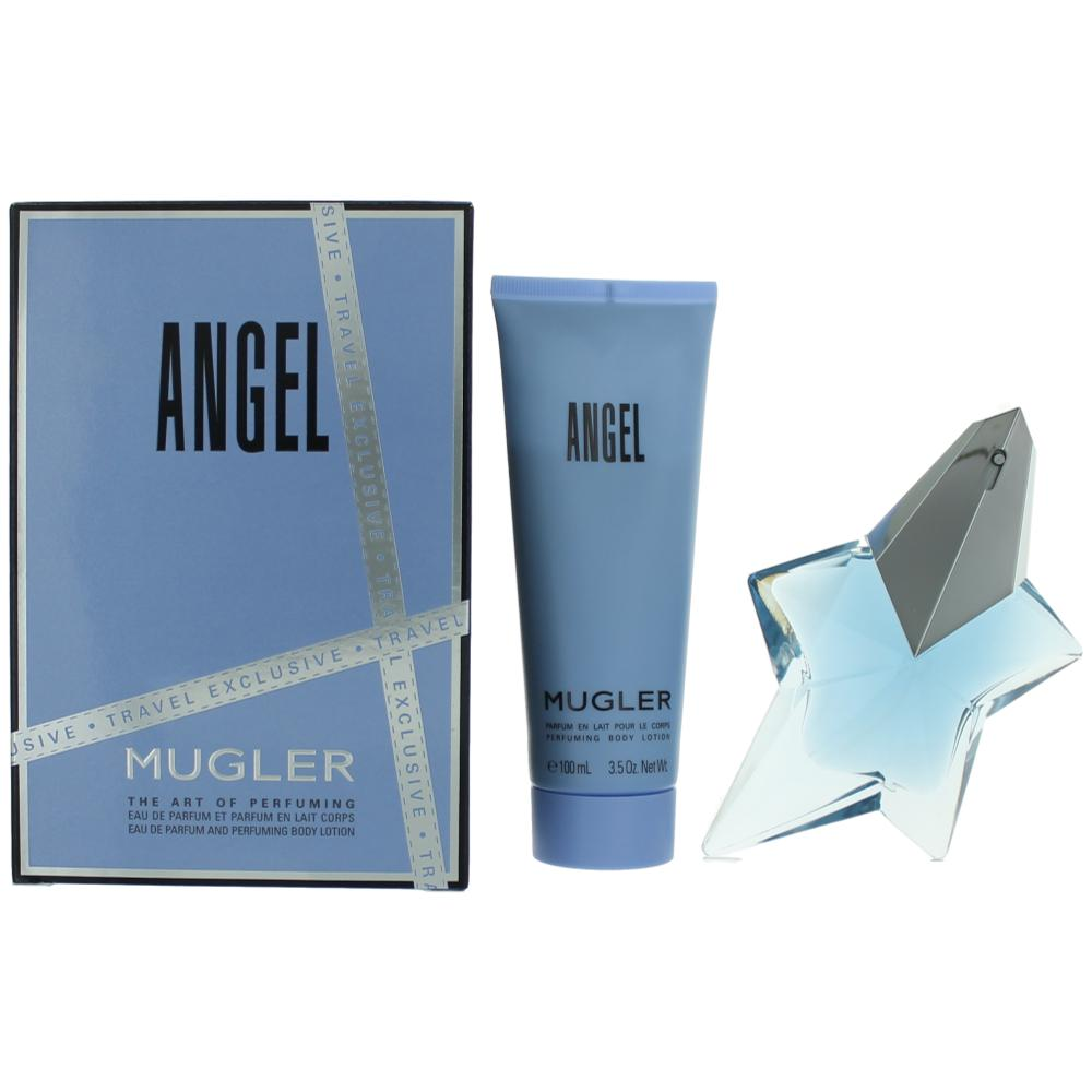 Angel by Thierry Mugler, 2 Piece Gift Set for Women awgang217