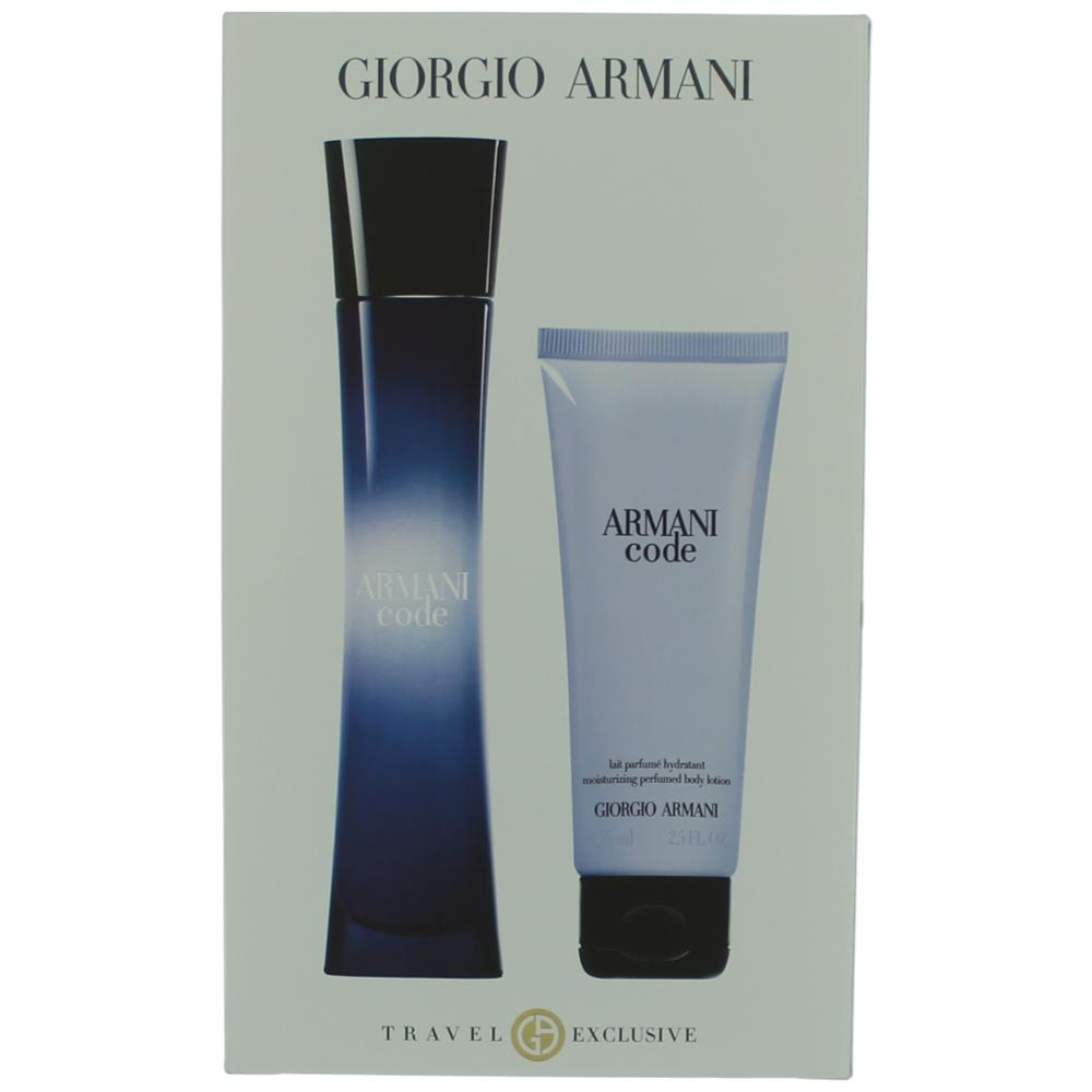 Armani Code by Giorgio Armani, 2 Piece Gift Set for Women awgarc2