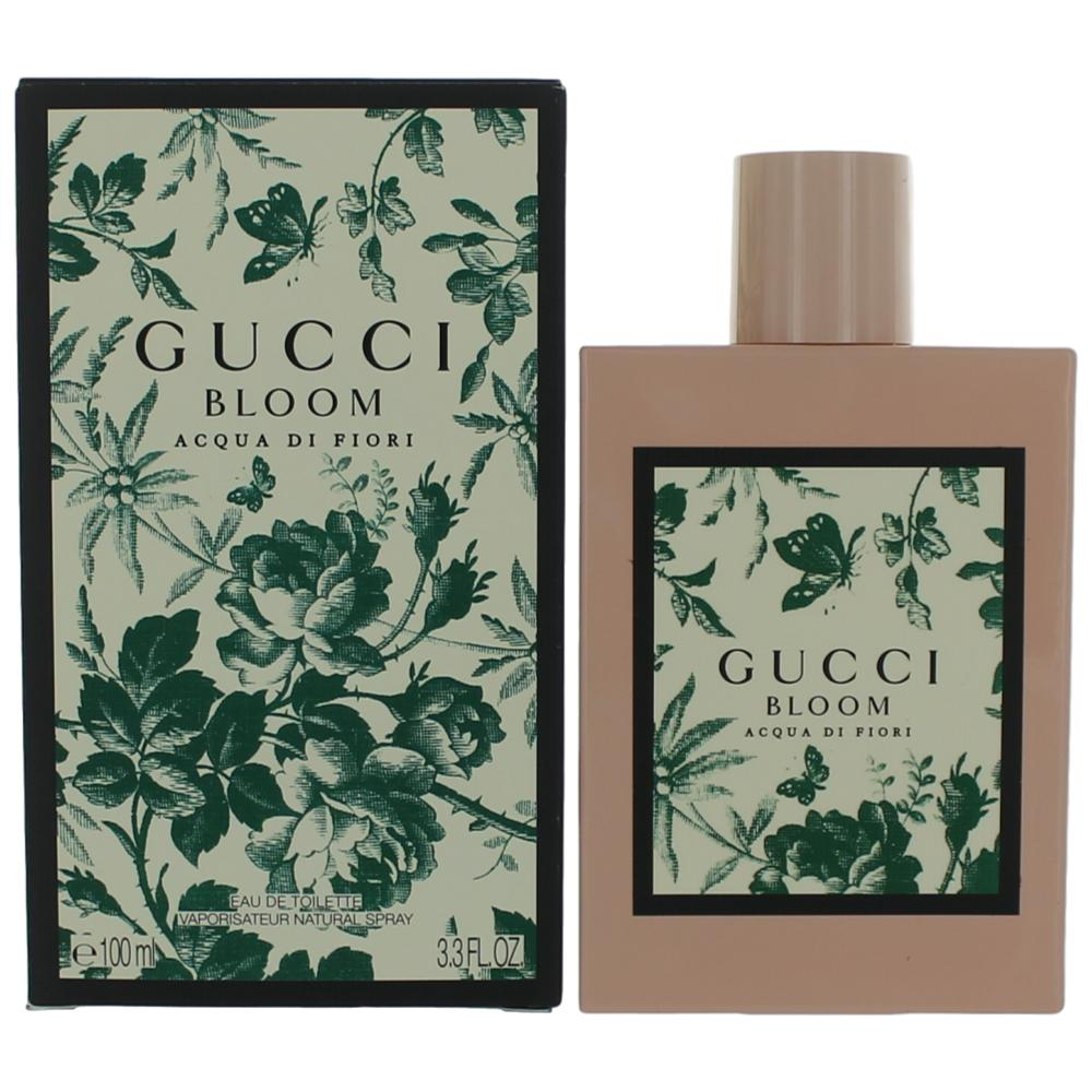 7af99ffe2 Gucci Bloom Acqua Di Fiori by Gucci, 3.3 oz Eau De Toilette Spray for Women
