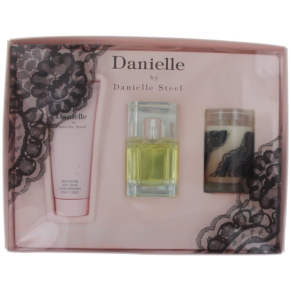 Danielle by Danielle Steel, 3 Piece Gift Set for Women