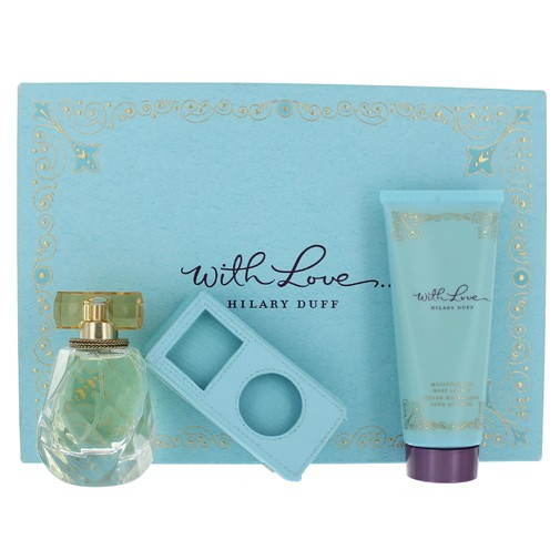 With Love by Hilary Duff, 3 Piece Gift Set for Women