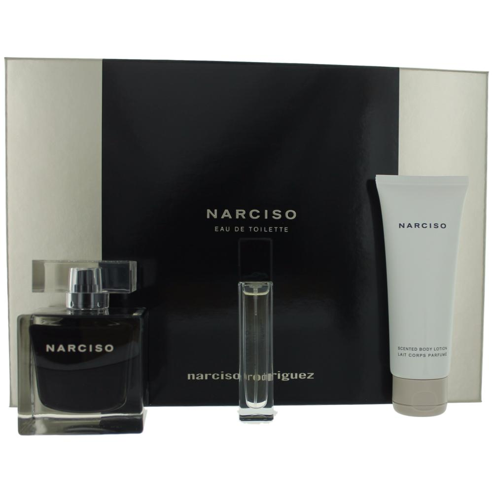 ean 3423478839854 narciso perfume by narciso rodriguez 3 piece gift set for women. Black Bedroom Furniture Sets. Home Design Ideas