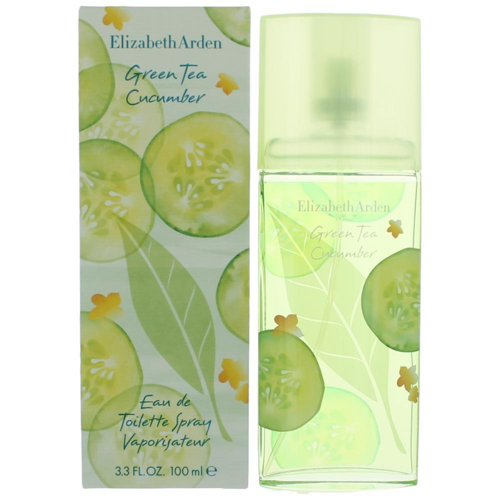 Green Tea Cucumber by Elizabeth Arden, 3.3 oz EDT Spray for Women
