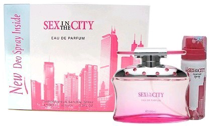 Sex in the City Love by Sex in the City, 2 piece gift set