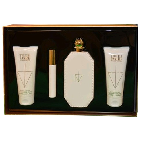 Truth or Dare by Madonna, 4 Piece Gift Set for Women