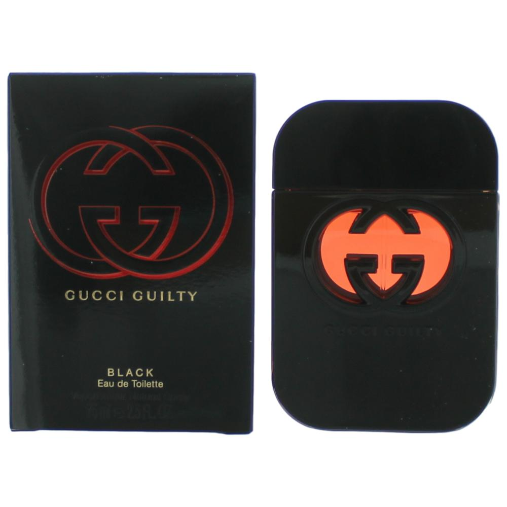 1891ec43c Gucci Guilty Black by Gucci, 2.5 oz Eau De Toilette Spray for Women
