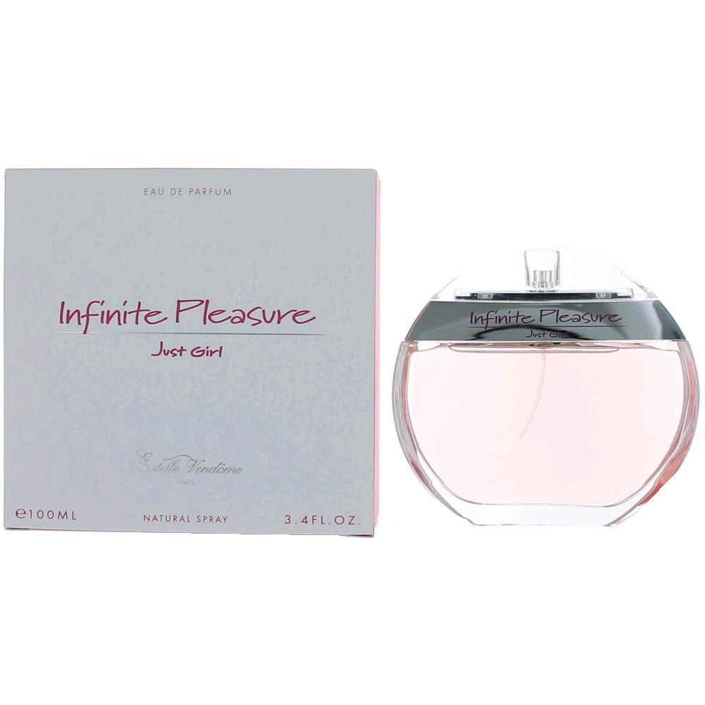 Infinite Pleasure Just Girl by Estelle Vendome, 3.4 oz Eau De Parfum Spray for Women