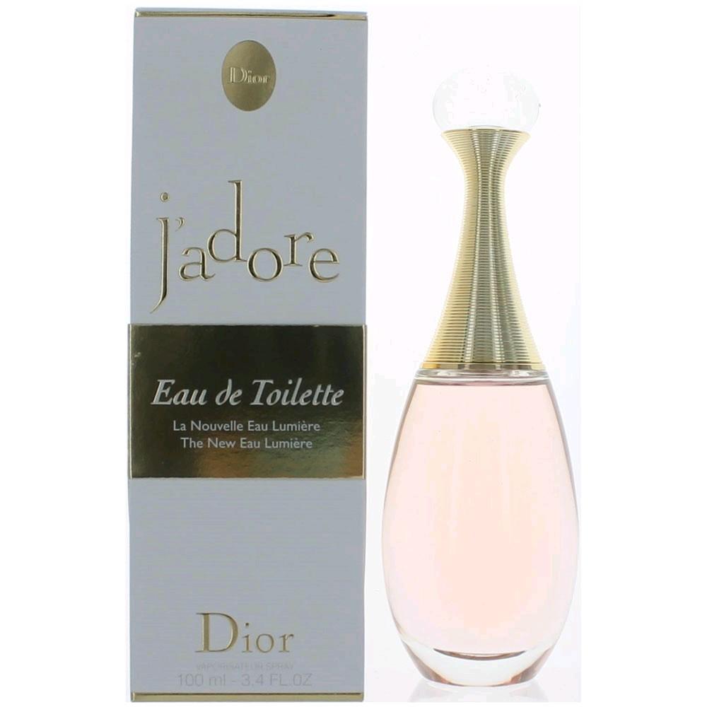 J'adore Eau Lumiere by Christian Dior, 3.4 oz EDT Spray for Women
