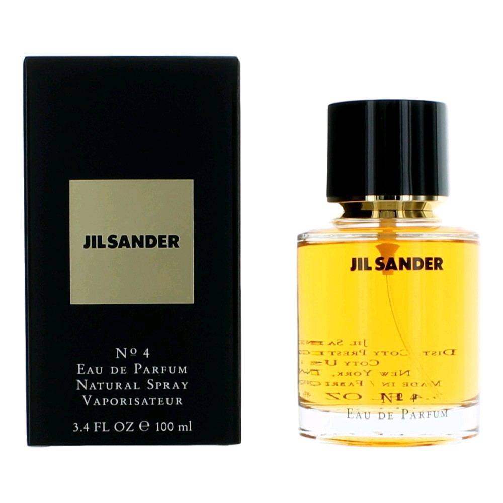 jil sander 4 perfume by jil sander 3 4 oz edp spray for. Black Bedroom Furniture Sets. Home Design Ideas