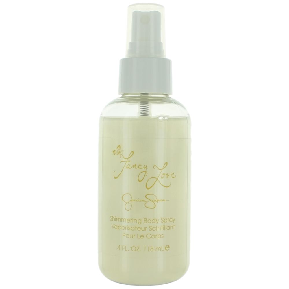 Fancy Love by Jessica Simpson, 4 oz Shimmering Body Spray for Women