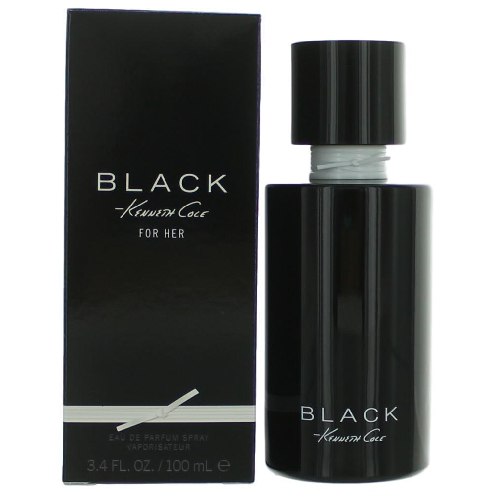 Kenneth Cole Black by Kenneth Cole, 3.4 oz Eau De Parfum Spray for Women