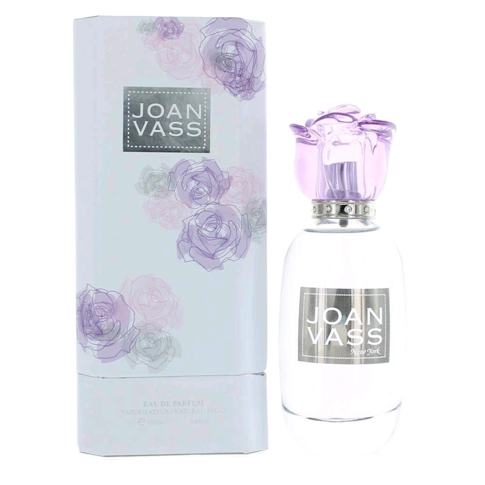 L'eau De Amethyste by Joan Vass, 3.4 oz Eau De Parfum Spray for Women