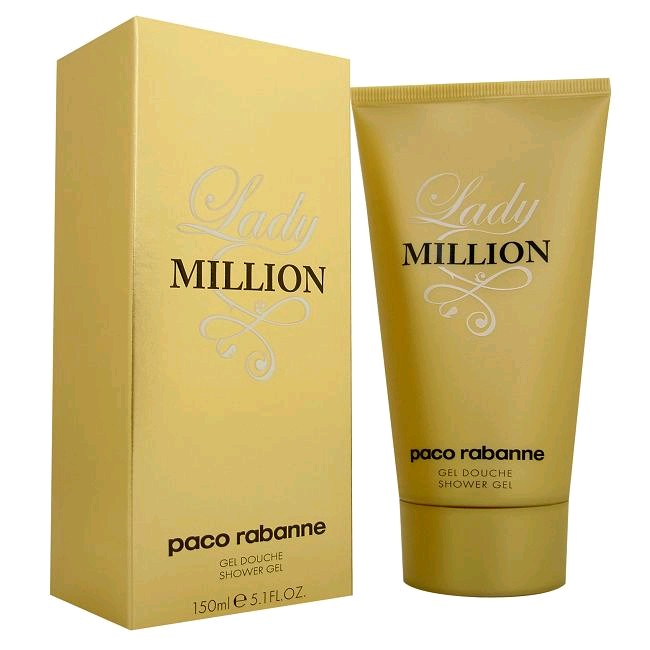 Lady Million by Paco Rabanne, 5.1 oz Sensual Body Lotion for Women
