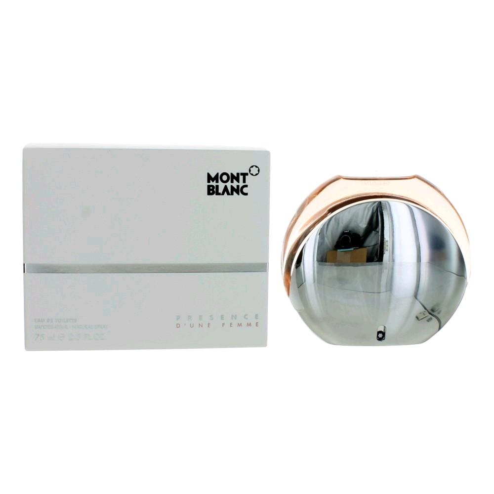 Mont Blanc Presence D'une Femme by Mont Blanc, 2.5 oz Eau De Toilette Spray for Women