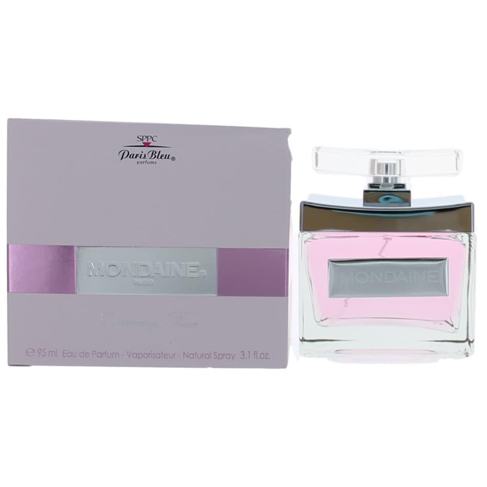 Mondaine Blooming Rose by Paris Bleu, 3.1 oz Eau De Parfum Spray for Women