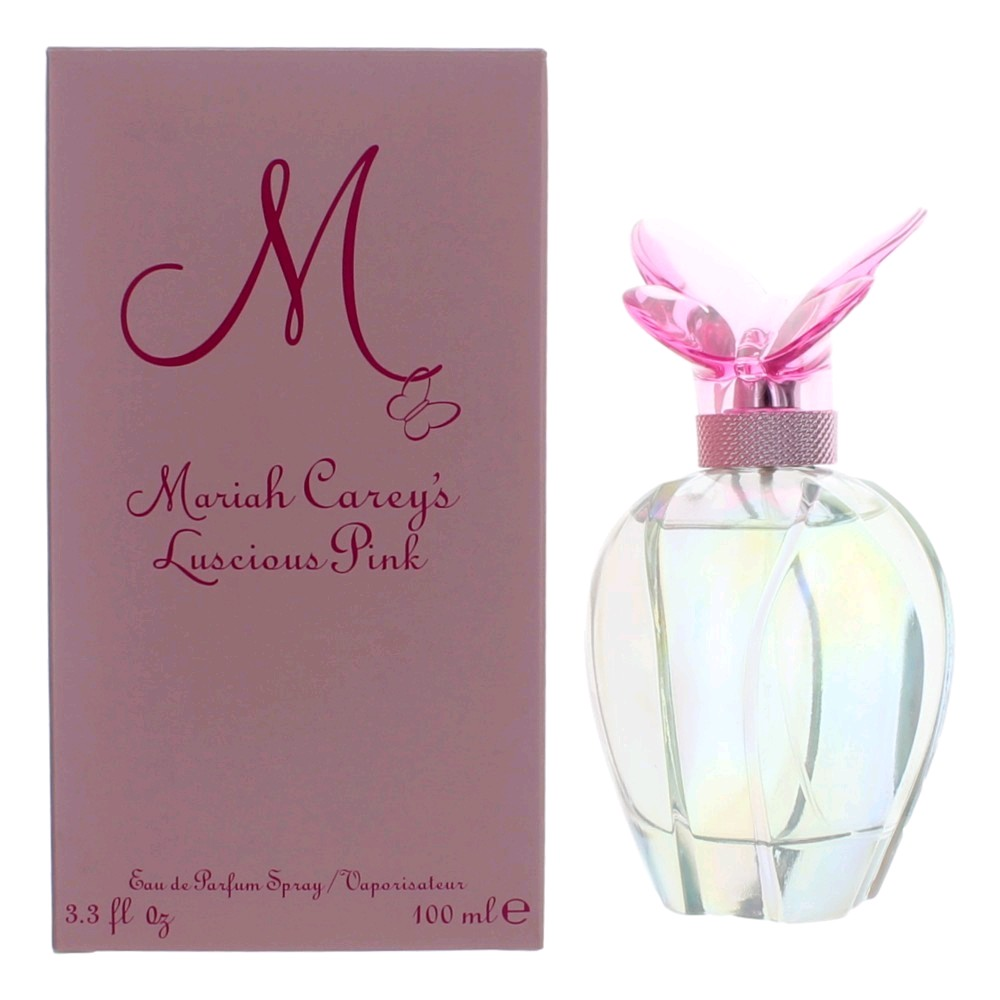 M Luscious Pink by Mariah Carey, 3.3 oz Eau De Parfum Spray for women.