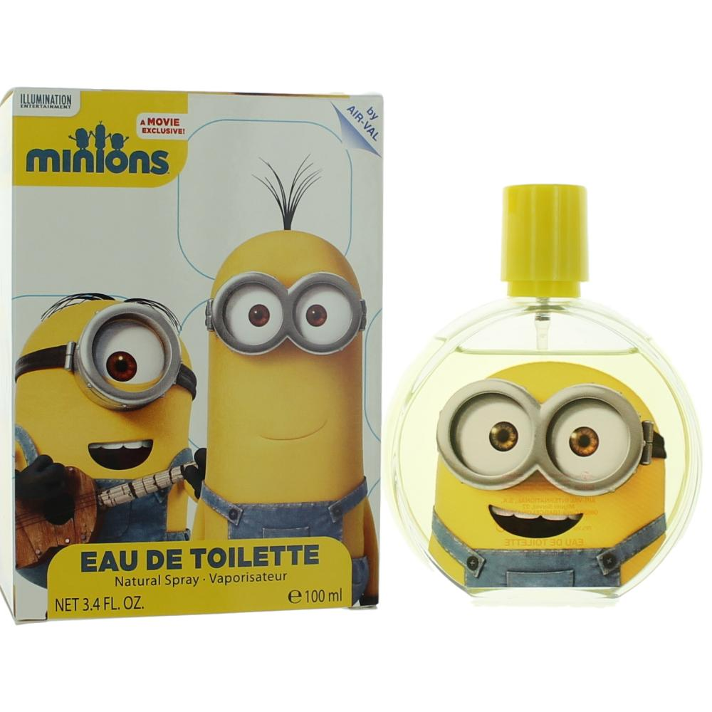 Minions by Air-Val International, 3.4 oz Eau De Toilette Spray for Unisex