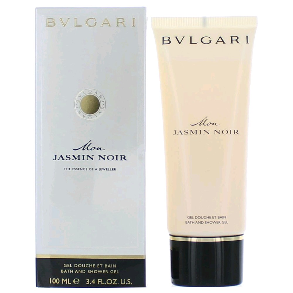 Bvlgari Mon Jasmin Noir by Bvlgari, 3.4 oz Shower Gel for Women EDP