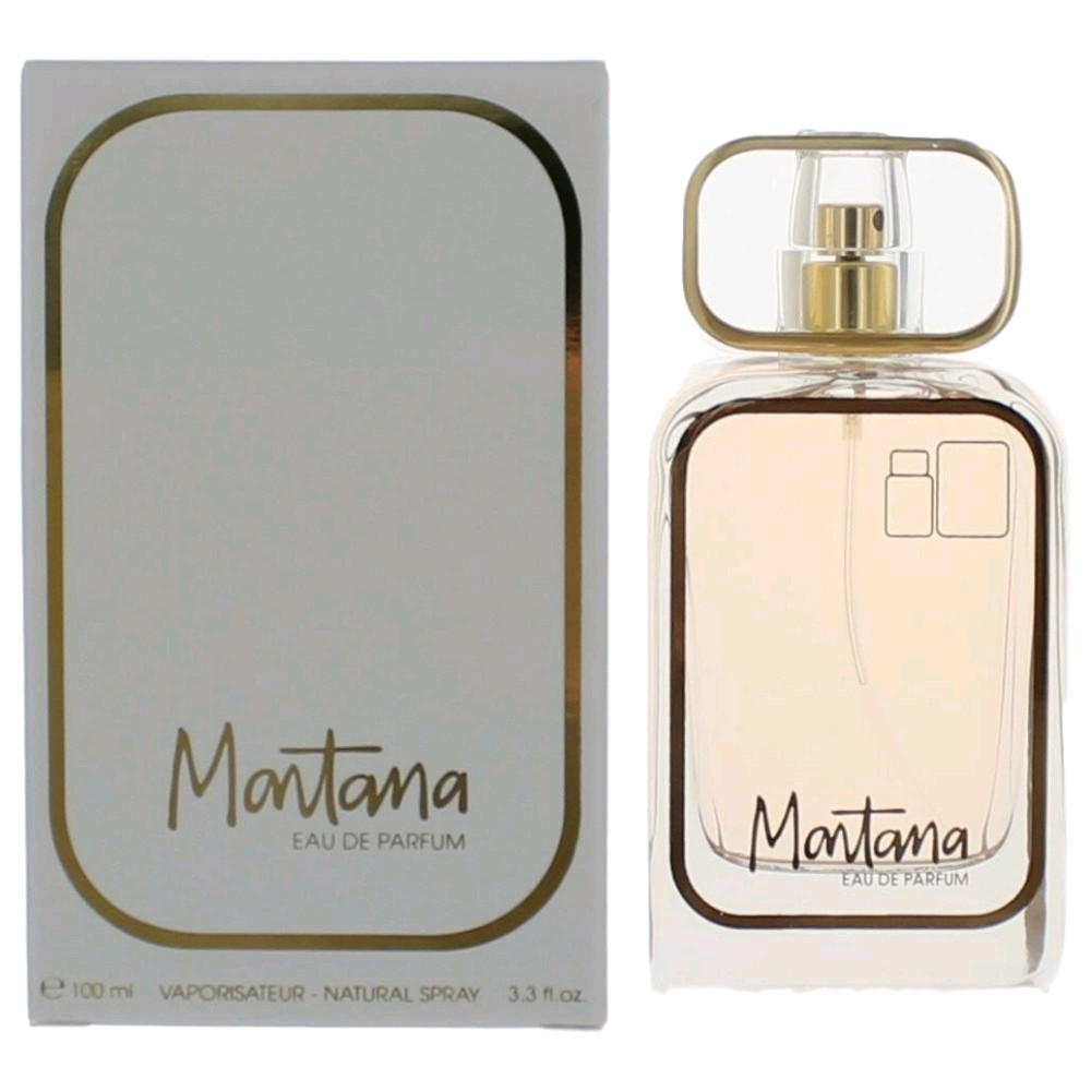 Montana 80 by Claude Montana, 3.4 oz Eau De Parfum Spray for Women